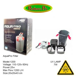 Canister Filter 1200 con UV