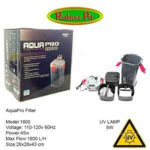 Canister Filter 1800 con UV