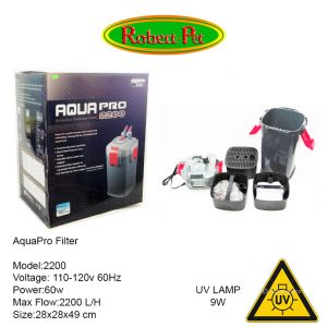 Canister Filter 2200 con UV