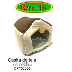 Casita de tela OPT52366