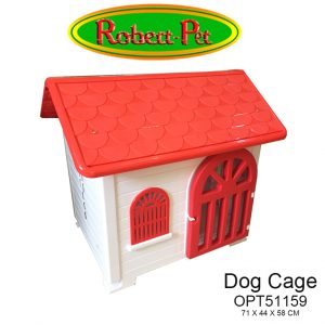 Dog Cage OPT51159 Rojo