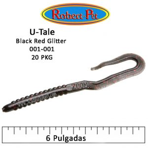 U-Tale, Black Red Glitter 001-001